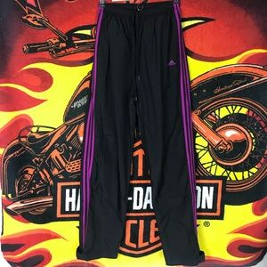 Adidas Track Pants Joggers Sweatpants 3 Stripes